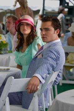The look you give when you see someone you don't like acting ridiculous.  I love Chuck and Blair soo much