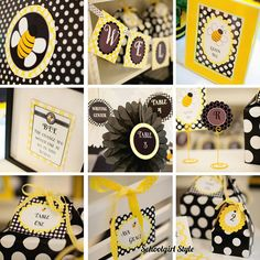 Classroom Bee Decor! The cutest I have ever seen! It makes me want to re-decorate my classroom...