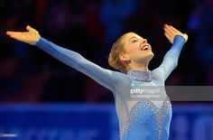 First place finisher Gracie Gold is introduced for the medal ceremony during the Ladies Championship at the 2014 U.S. Figure Skating Championships in Boston MA, January11, 2014. ( Photo by John McDonnell/The Washington Post via Getty Images))