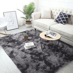 Living Room Carpet, Living Room Bedroom, Rugs In Living Room, Living Room Decor, Bedroom Decor, Bedroom Area Rugs, Gray Room Decor, Dorm Room Rugs, Modern Room Decor