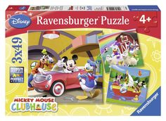Ravensburger Puzzle - Wd Disney Mickey Mouse Clubhouse: Everybody Loves Mickey (3X49pcs.) (09247)  Manufacturer: Ravensburger Enarxis Code: 015994 #toys #puzzle #Ravensburger #Disney #Mickey