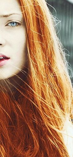Beautiful ginger hair