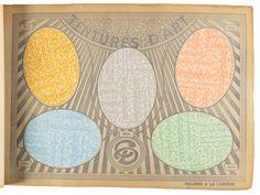 Tarif Album 1937-1938 - Price Estimate: $3000 - $5000 Wallpaper Stencil, Wallpaper Samples, Old Paper, Auction, Album, Card Book