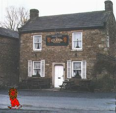 The Red Lion, Langthwaite. Home of All Creatures Great & Small. No visit is complete without a visit to see Rowena and drink Black Sheep beer. Places Ive Been, Places To Go, Somerset Place, James Herriot, Old Pub, Yorkshire Dales, Graveyards, Black Sheep, Homeland