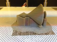 Project of spinning top made by Olgierd Jaskulski