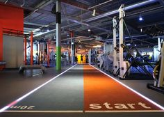 Gymbox - special running lane