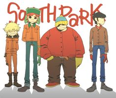 Gorillaz in South Park