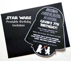 invitaciones de cumpleaños star wars stormtrooper - Buscar con Google