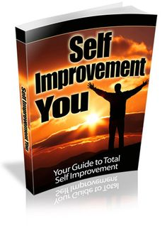 Self Improvement You  2015 Your Personal Guide To Total Self Improvement! Ebook Pdf by GoodIdeiaEbooks on Etsy