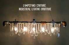 Handmade one-of-a-kind multi-colored by LampstandCouture on Etsy