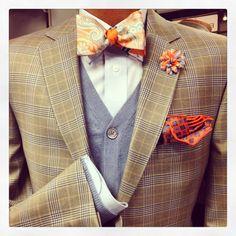 Kentucky derby attire from THE MENS CORNER, Pikeville, Kentucky. Stylist Corey Copley