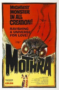 El señor de los bloguiños: Mothra (1961) de Ishirô Honda