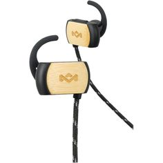 The House of Marley - Voyage BT Wireless In-Ear Headphones - Signature black, EM-FE053-SB