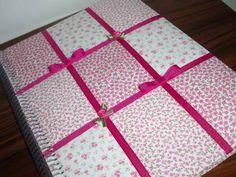 colagem em tecido - capa caderno - Pesquisa Google
