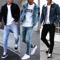 Cool Outfits For Men, Summer Outfits Men, Stylish Mens Outfits, Black Outfits, Fashionable Clothes For Guys, Cool Clothes For Guys, Jordans Outfit For Men, Best Casual Wear For Men, Vans Outfit Men