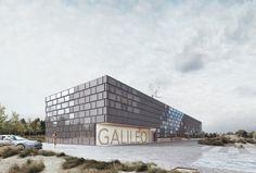 Galileo Reference Centre in Noordwijk Space Business Park by Architekten Cie.