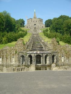 The Herkules Monument in Kassel - Where my dad used to play.