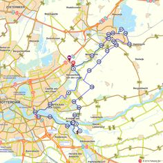 Holland, Gouda, Outdoor Life, Places To Go, Diagram, Campers, Walking, Sport, Bicycling