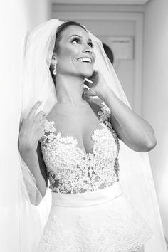 Camila e Alessandro - Making of da noiva - Vestido de Noiva - Vestido de Renda - Véu - Make noiva - Vestido de noiva decotado - Bride - Wedding - Casamento