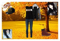 """""""."""" by oosammyoo ❤ liked on Polyvore featuring Frame Denim, Vero Moda and New Era"""