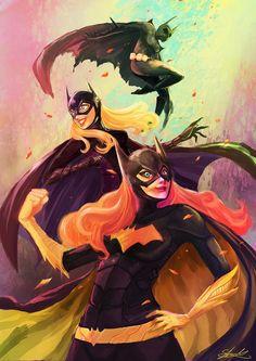Batgirls by ZuZuMoo