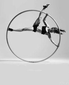 Nadia - Cyr Wheel Performer | London | UK