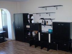 Apartament 2 camere decomandate- 9 Mai- mobilat si utilat complet 9 Mai, Lockers, Locker Storage, Desk, Cabinet, Furniture, Home Decor, Clothes Stand, Desktop