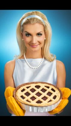 Stepford wife costume idea for work tomorrow.