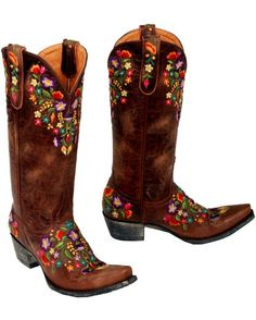 Old Gringo:) These are my wedding boots and my first pair of old gringos. Cant wait for them to get here.