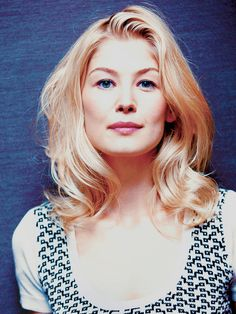 The inspiration for Grace Philanor: Rosamund Pike