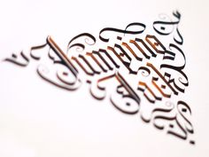 Calligraphy using Parallel Pen