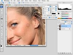 Photoshop Smooth Skin and Retouching Part 1 of 2