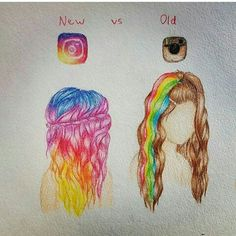 Social Media Instagram New & Old