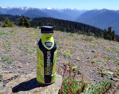 Natural hydration to keep us at our peak during family hikes. #MyBODYARMORsummer