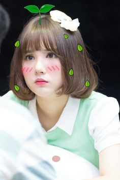 bean sprout baby pt. 1 Jung Eun Bi, Anime Couples Drawings, Hair Reference, Pretty Asian, G Friend, Meme Faces, Me As A Girlfriend, Korean Girl Groups, Bob Hairstyles