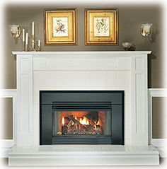 Minor's Fireplaces offering wood burning stoves, pellet stoves and fireplace inserts