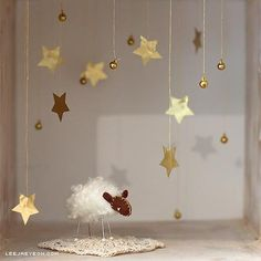 sheep, stars and bells : *diaorama - The Little Prince Prince Birthday Party, Baby Birthday, First Birthday Parties, First Birthdays, Little Prince Party, The Little Prince Theme, Prince Nursery, Baby Shower, New Years Eve Party
