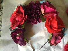 Day of the Dead Mexican Wedding Flower Crowns/Clips - Album on Imgur