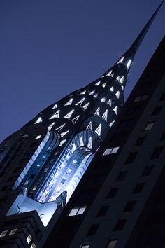 El edificio Chrysler, el edificio más alto del mundo en 1930