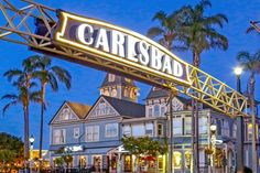"""Vacay in Carlsbad California """"The Village by the Sea"""", Summer 2019 - Carlsbad Food Tours Carlsbad Beach, Carlsbad California, California Coast, California Getaways, Carlsbad Village, Best Resorts, Great Vacations, Real Estate Marketing, Beautiful Beaches"""