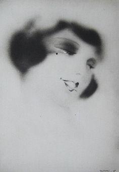 By Wurci (Robert Falcucci, 1900-1989) from Elizabeth Arden ad, 1928.