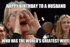 Happy Birthday Husband Meme Very Funny