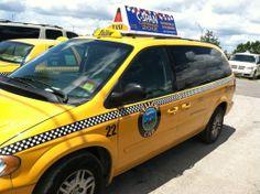 C-Span Tampa Taxi Advertising
