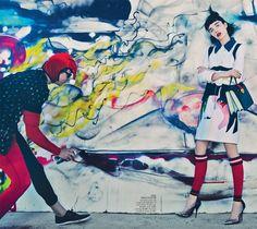 Vogue Australia March 2014 | Janice Alida by Emma Summerton