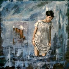 The theme of woman with water means something special, reflecting inner…