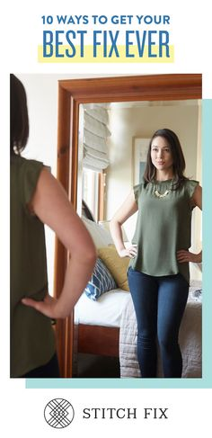 Get the personal styling service for the busy women on the go. Schedule a Fix and your Stylist will hand-select 5 items for you to try on at home. Keep what you love, send back the rest! Get started at StitchFix.com.