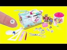 Real Miniature Sewing Supplies - YouTube