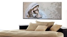 Capezzali moderni dipinti olio su tela