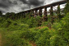 Abandoned Railroad Trestle | Flickr - Photo Sharing!