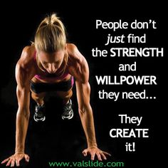 Exercise your willpower;  exercise the power of your choice! #Fitfluential #Fitspiration